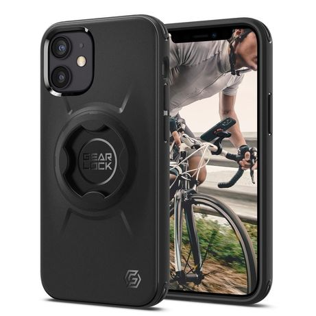 Capa Traseira Spigen Gear Lock Iphone 12 Mini - Preto
