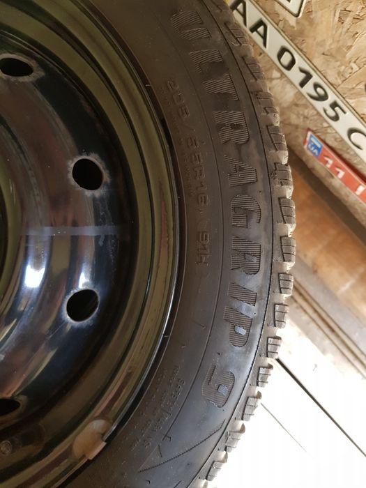 Продам колеса в сборе r16 205/55 зима Бровары - изображение 1