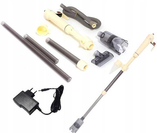 Odmulacz na  baterie 3w1 do  akwarium + zasilacz GRATIS 3 woreczki