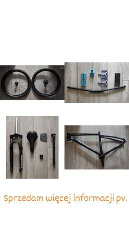 Części rowerowe.