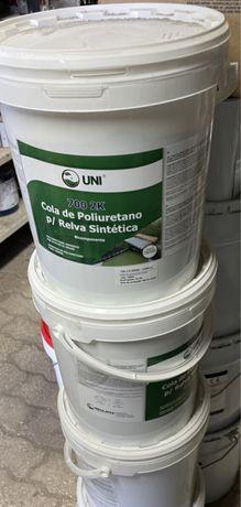 Cola poliuretano p/relva sintética 10kg's
