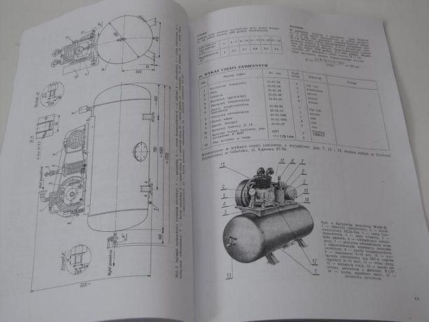 Instrukcja DTR sprężarka kompresor WAN WAN-CE, WAN-CFm, WAN-ES, WAN-E