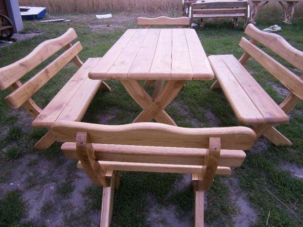 Meble ogrodowe , ławki , stoły