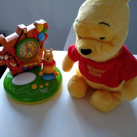 Relógio e peluche Winnie the Pooh