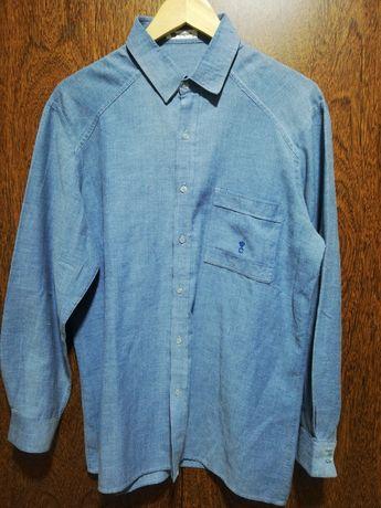 Último preço *Camisa cartier* Verão*Azul ganga*Novo