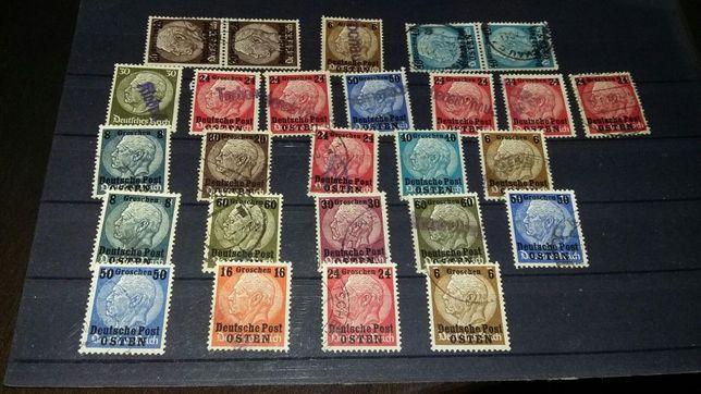 Bardzo stare niemiecki znaczki
