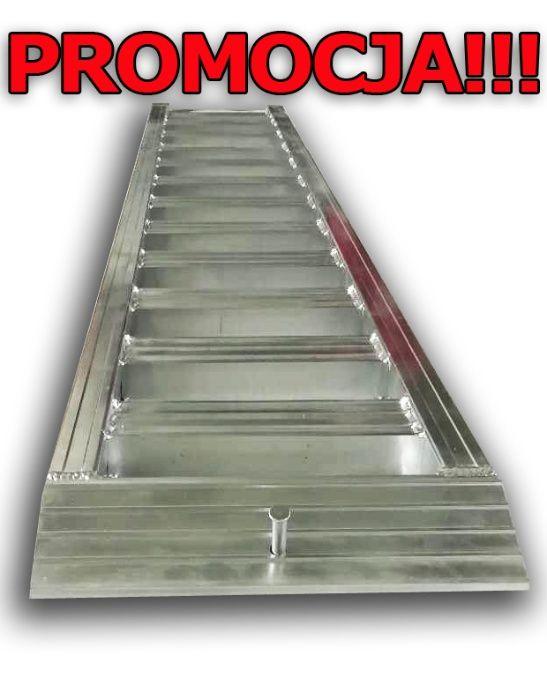 Promocja Najazdy aluminiowe 2.5 m Rampa Najazdy dla koparki Udźwig 2T Brzeziny - image 1