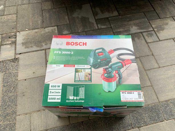 Pistolet malarski Bosch PFS 3000-2 świetny stan