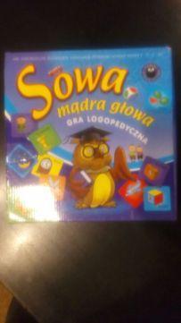 Gra logopedyczna mądra sowa świetna zabawa dla dzieci i nauka mowy