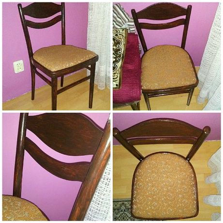 Stare krzesło odświeżone