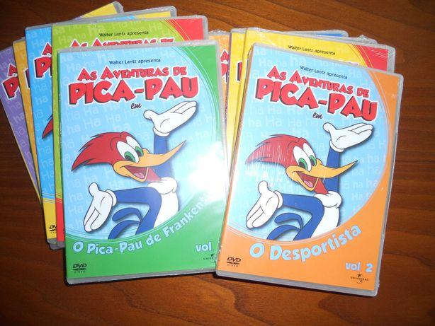 DVD As Aventuras do Pica-Pau
