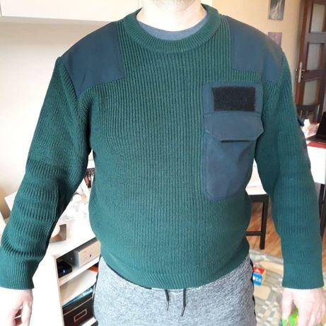 Sweter wojskowy, myśliwski, militaria