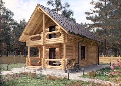 Деревянные дома, бани из сруба от Производителя!