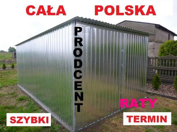Garaż blaszany BLASZAK 3x5 Garaże blaszaki WZMOCNIONE Cała Polska Raty