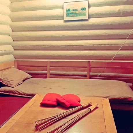 Подушка с сеном и травами для бани и не только
