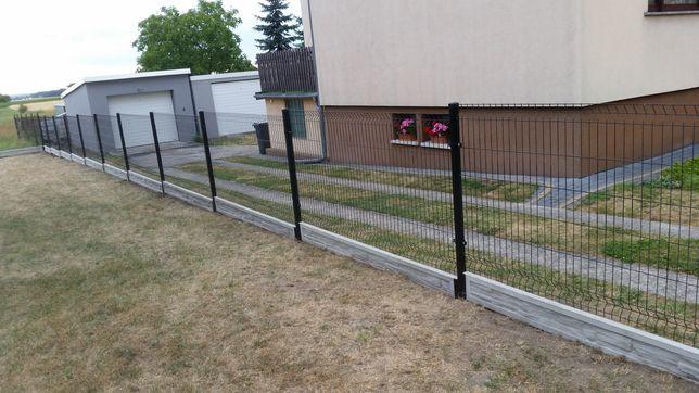 Ogrodzenia panelowe, palisadowe, bramy i furtki, siatka leśna montaż