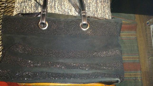 Женская сумка кожаная
