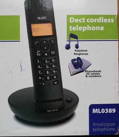 Telefon stacjonarny ml0389 bezprzewodowy