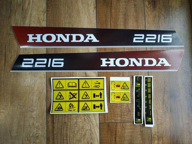 Zestaw naklejek kosiarka traktorek Honda 2216.