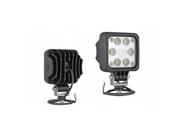Lampa LED2F.47650 WESEM 12-48V 100X100 . 2000lm +przewód 0.5m