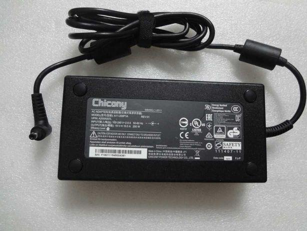 Carregador portátil Clevo Gamer 19v 200w (hp asus dell msi lenovo)