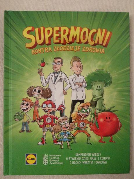 Książka, komiks: Supermocni kontra złodzieje zdrowia, Lidl