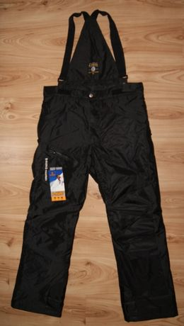 SPODNIE męskie zimowe narciarskie NARTY SANKI XL
