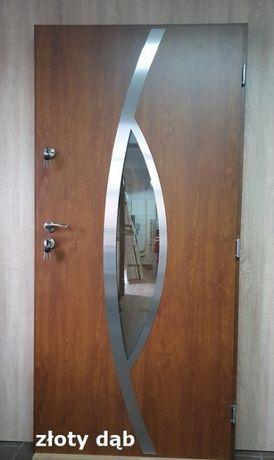 """Drzwi zewnętrzne GRUBE 72mm model """"MIRIAM 2"""" SZYBKA DOSTAWA"""