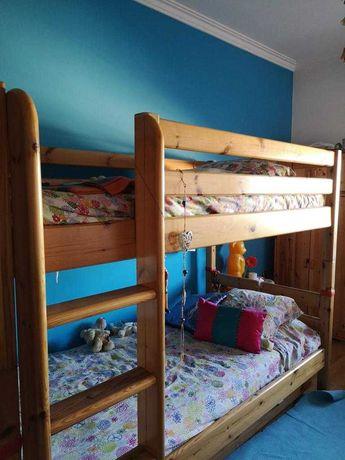 Mobília de quarto, linha escandinava FLEXA