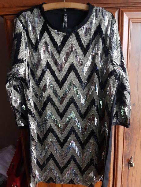 Sukienka sylwestrowa M-L