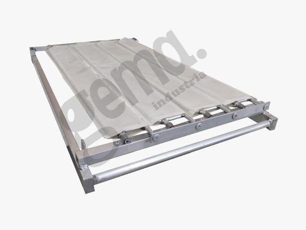 Tabuleiros persiana padaria aluminio 75x45