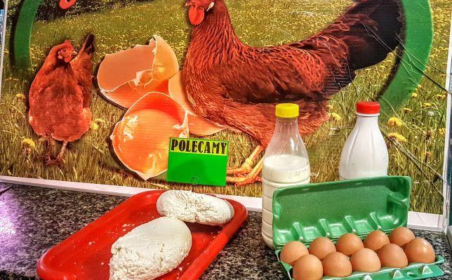 Mleko wiejskie,jaja,ziemniaki, marchew,buraki