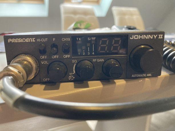 CB radio PRESIDENT Johnny II + antena GRATIS  POLECAM warto !