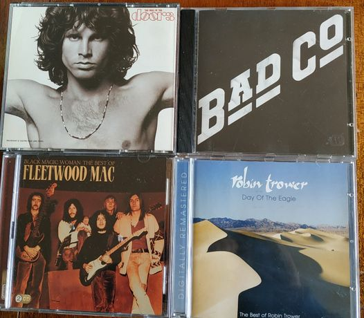 фирменные CD Fleetwood Mac 2CD, Doors 2CD, Bad company, Trower