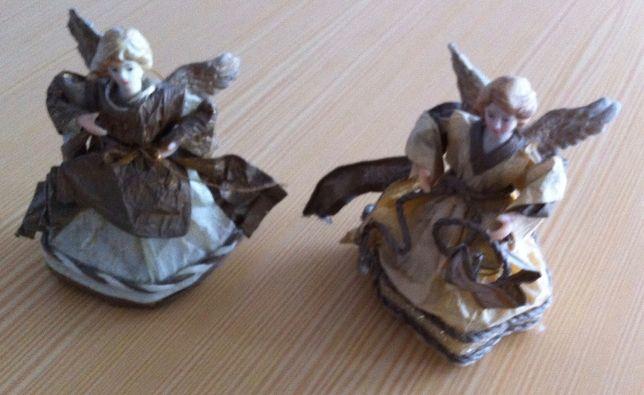 par de anjos antigos