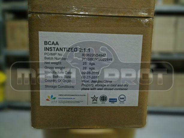 Аминокислоты BCAA 2.1.1 (без ароматизаторов) незаменимые