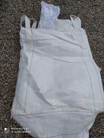 Worek Big Bag wymiar 90x90x130cm na kamień gruz / Szybka wysyłka !