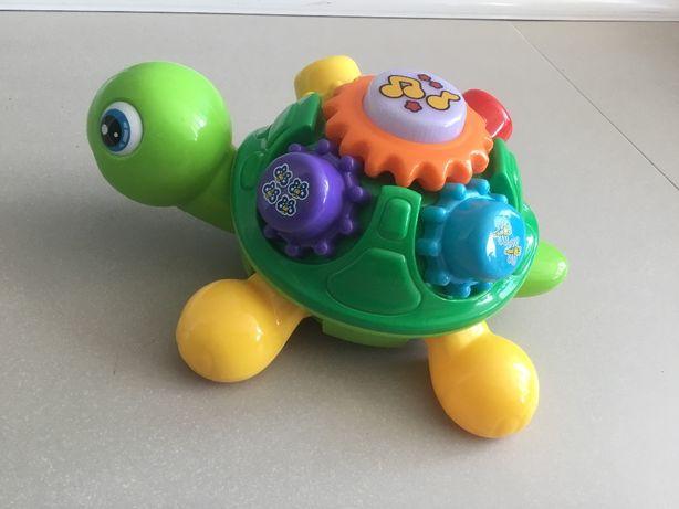 Interaktywny żółw