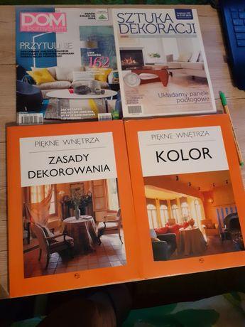 Piękne wnętrza, 2 książki, Kolor, Zasady dekorowania