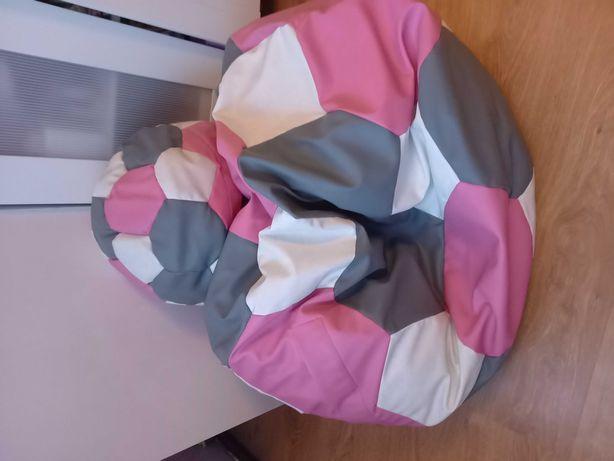 Pufa siedzisko + mała pufka pod nogi głowę