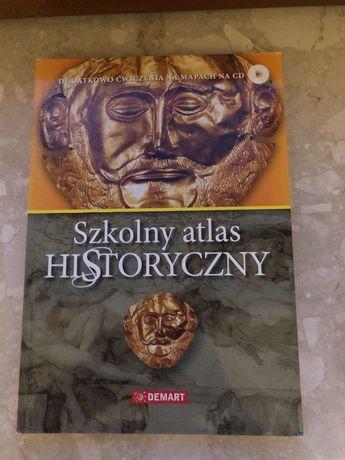 Szkolny atlas historyczny DEMART