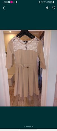 Koronkowa sukienka 2 szt