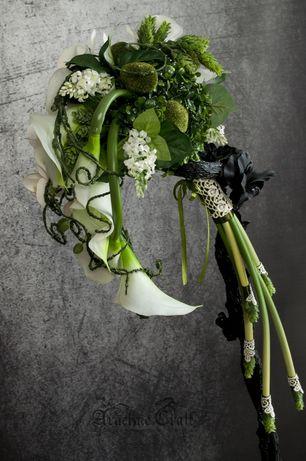 Bukiet ślubny, do sesji fotograficznej
