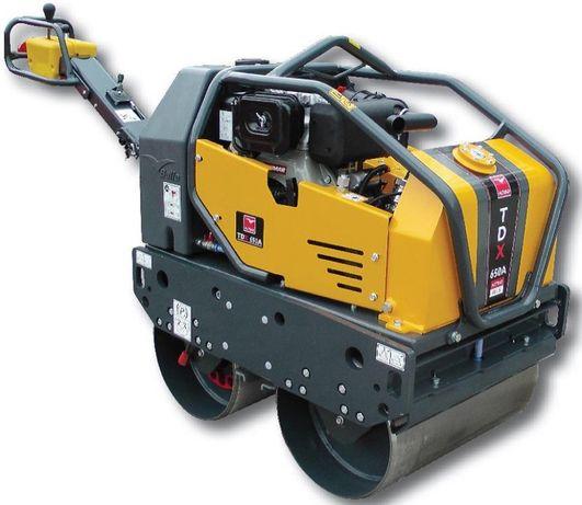 Cilindro Compactador de Rolos para asfalto BELLE TDX 650A