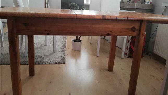 Rozkładany stół sosnowy