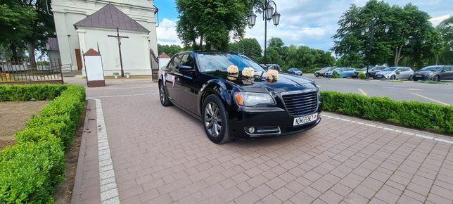 Auto do ślubu, auto z kierowcą WOLNE TERMINY Chrysler 300c