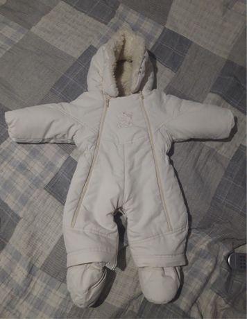Зимний комбинезон 74 размер