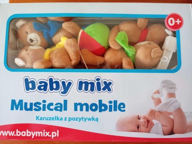 Karuzela z pozytywką - baby mix