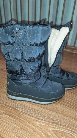 Зимние ботинки детские 34 р
