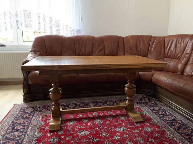 Stolik kawowy drewniany rozkładany
